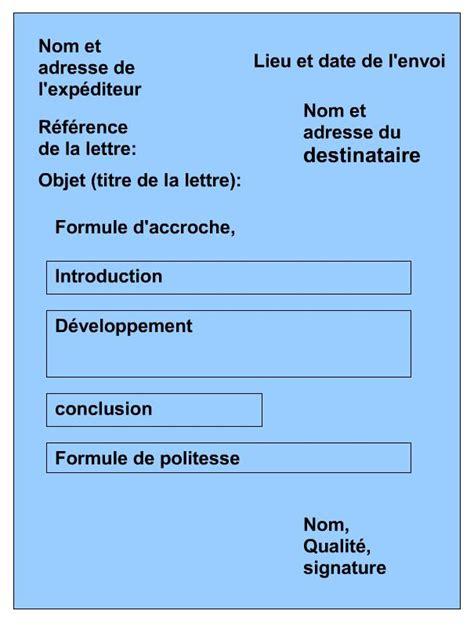 Présentation Lettre Informelle Anglais Lettre Administrative Coll 232 Ge Jules Verne