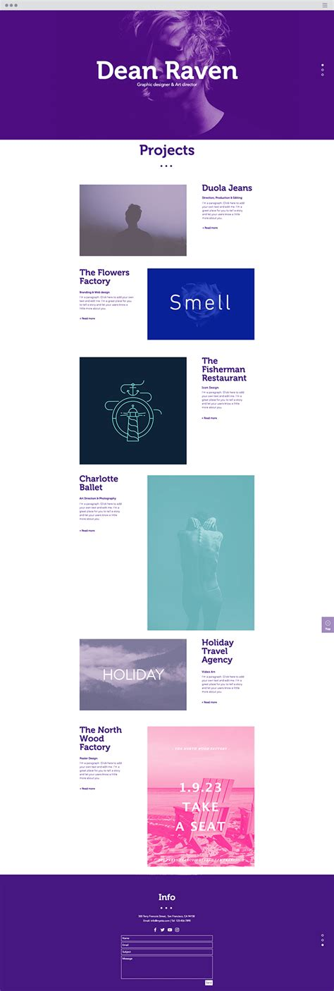 17 new website templates you have to see