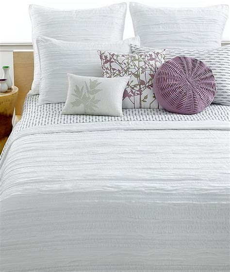 white bed coverlet style co florabella white textured ruffled twin quilt