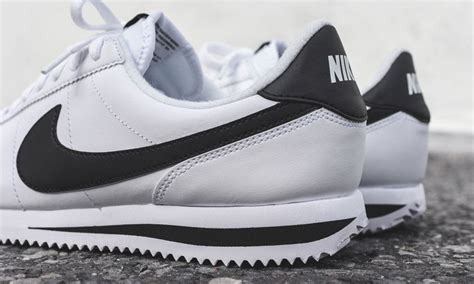 Nike Cortes 4 nike cortez grain leather cool material