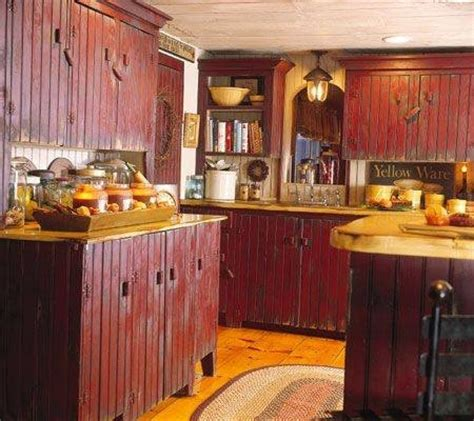 rustic red kitchen cabinets pinterest discover and save creative ideas