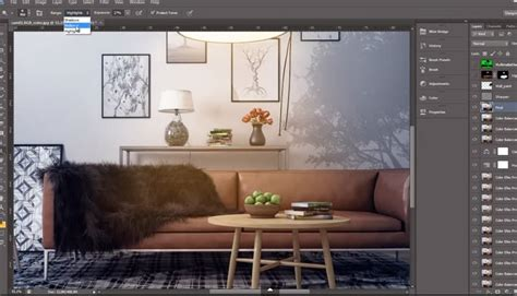 advanced post production techniques in photoshop interior