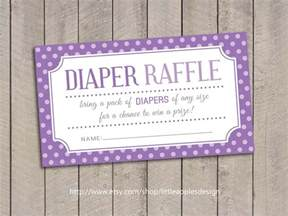 Baby Shower Raffle by Baby Shower Raffle Tickets Purple Baby Shower