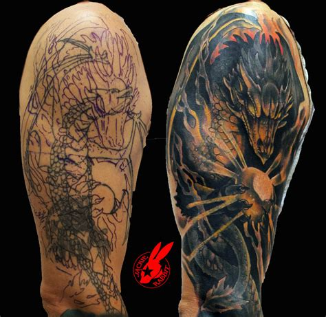 dragon tattoo cover up designs 63 wonderful cover up shoulder tattoos