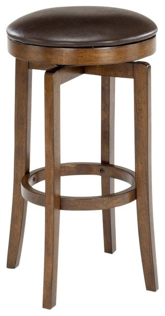 transitional bar stools hillsdale furniture brendan backless counter stool bar
