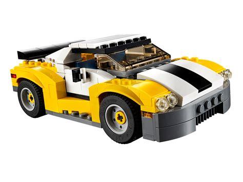 Lego Creator 3 In 1 31046 Fast Car Set Motorcar Truck Forklift Tractor ab 17 99 schneller sportflitzer 31046 lego creator 2016 im preisvergleich fast car