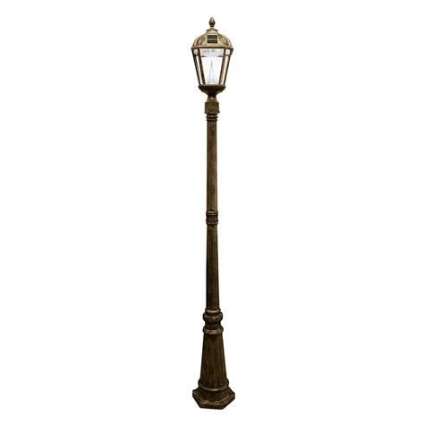 solar lights l posts outdoor gama sonic solar light posts imperial bulb solar l and