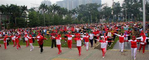 Mini 3 Di Medan persekutuan pengakap malaysia negeri selangor ikut meriahkan cfd senam jantung sumut24