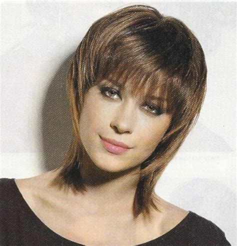 shag medium length for plus size women shag hair cut cute shoulder length shag haircut picture