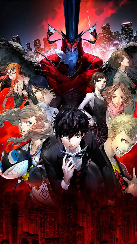 nighttime improved for bezel less phones like the iphone x persona5