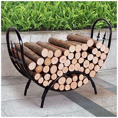 Big Lots Firewood Rack crescent log rack