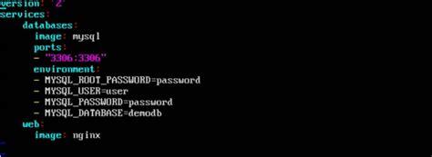 docker tutorial point docker compose