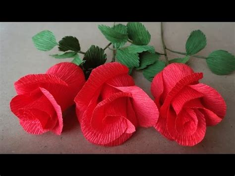 craft crepe paper abc tv how to make paper flower from crepe paper