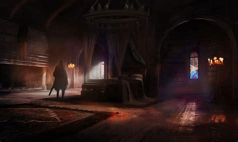 bedroom characters art game of thrones
