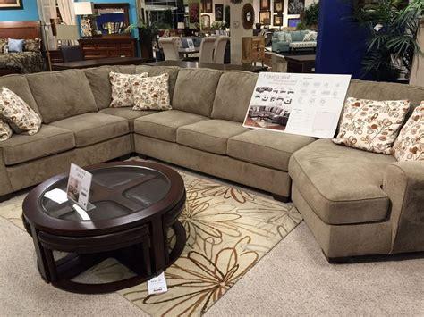 sales floor large modular sec furniture