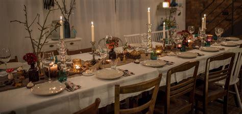 Rustikaler Speisesaal Dekor by Herbstliche Tischdeko Leelah
