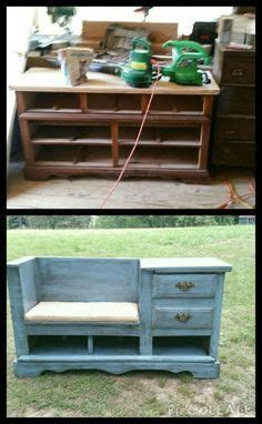 dresser turned bench 1000 images about woodworking project inspiration on pinterest japanese tools