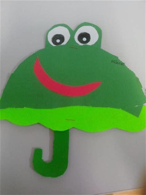 frog pattern umbrella frog umbrella craft idea