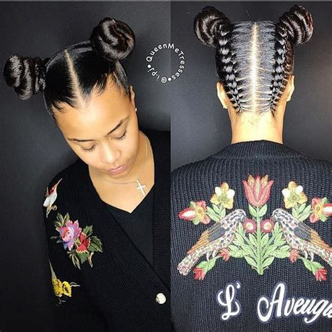 Two Buns Hairstyle Hair Black by Two Buns Totally This Hair Style How About