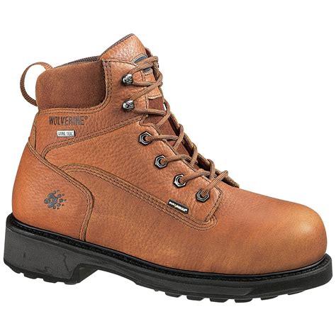 wolverine durashock boots wolverine 174 s 6 quot durashocks 174 slip resistant tex