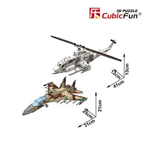 New Cubic Puzzle 3d Ah 1 Huey Cobra Sukhoi Su 35 3d puzzle ah 1 huey cobra sukhoi su 35 schwierigkeit