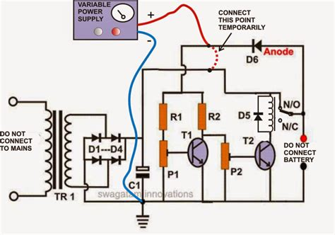 simple battery charger circuit diagram self regulating automatic lead acid battery charger