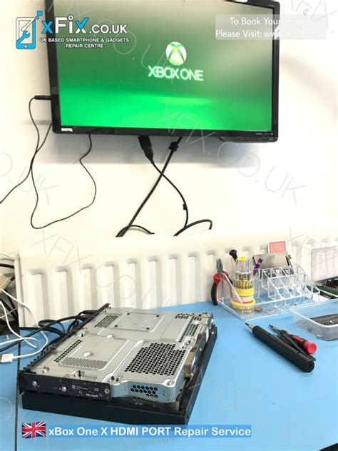 xbox   hdmi port replacement repair service uk xfix