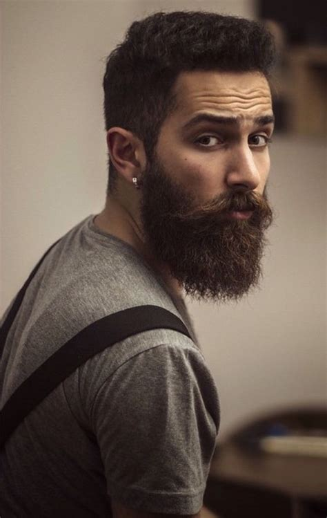 Awesome Hairstyles For Guys With Beards by Pin By Lea Greenwood On Beards And