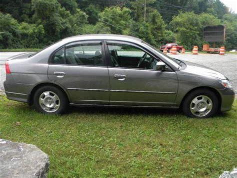 2004 Honda Civic 4 Door by Purchase Used 2004 Honda Civic Hybrid Sedan 4 Door 1 3l In