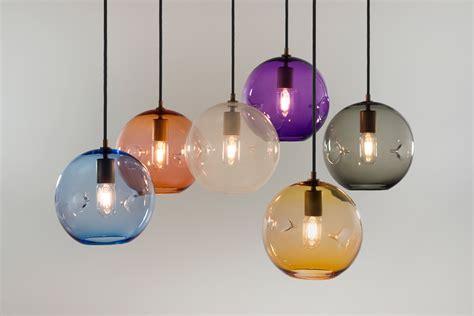 blown glass pendant lights keep blown glass lighting