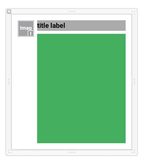 ios uitableview height auto layout ios flexible table view cells with custom view stack