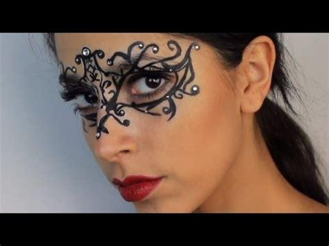 Masker Airbrush makeup 5 masquerade mask