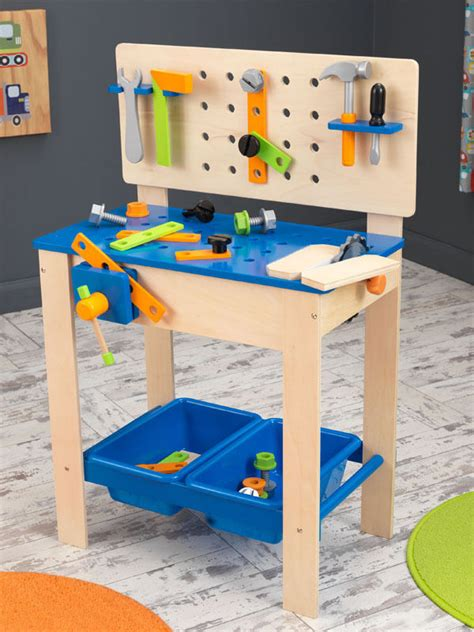 kidkraft tool bench kidkraft wooden workbench and tool set