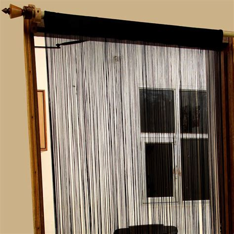 heavy weight curtains heavy weight string curtains 90x200cm fly screen room door