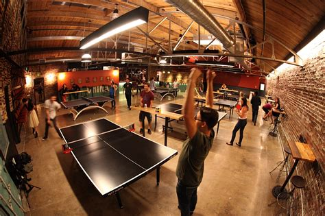 Bars With Ping Pong Tables by Denver S New Ping Pong Bar Adds New Spin On Entertainment
