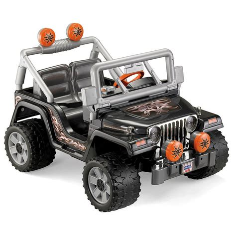 jeep power wheels for toodler toys power wheels tough talking jeep wrangler