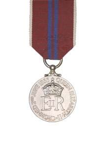 Nzdf medals the coronation medal 1953