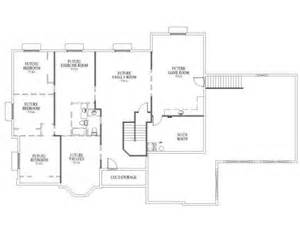 rambler floor plans with basement rambler house plan mcmillan basement for the home pinterest