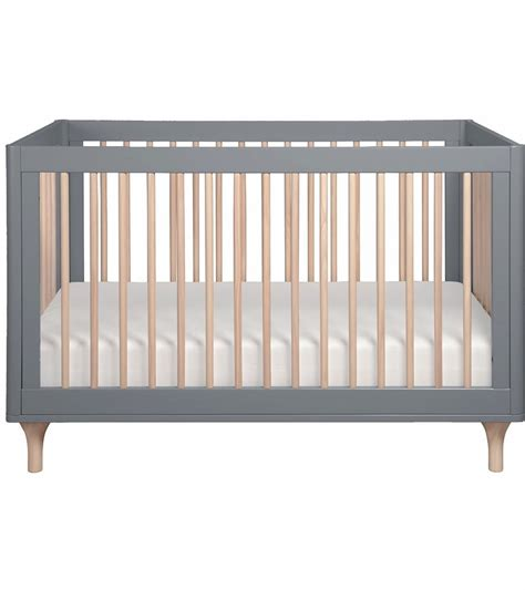 Crib Converter Babyletto Lolly 3 In 1 Convertible Crib With Toddler Bed Conversion In Grey Washed