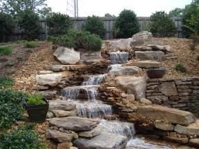 Building A Deck On A Sloped Backyard Morris Nursery Amp Landscapes Inc Ponds Amp Pools Portfolio