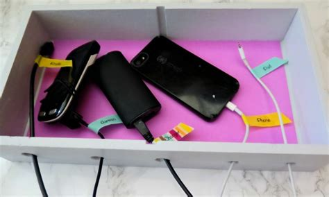 build your own charging station make your own diy phone charging station