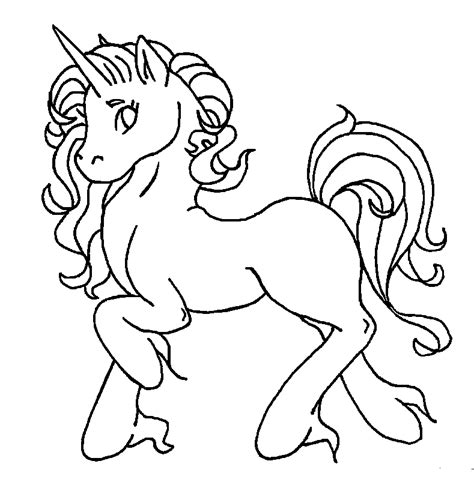 Unicorn Coloring Pages Online | unicorn pony coloring pages