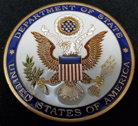 department challenge coins us state department provincial reconstruction team basra