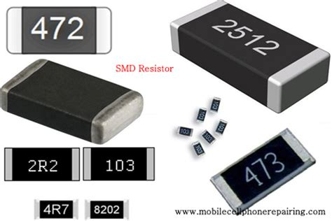 smd resistor ratings resistor
