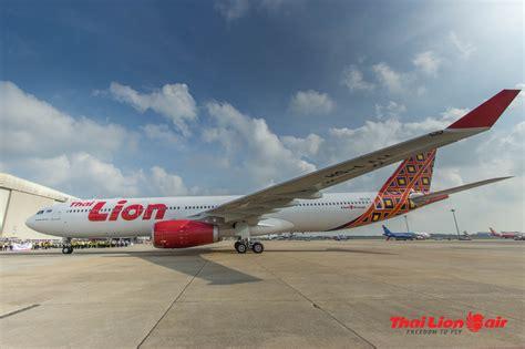 thai lion air welcome new aircraft airbus a330300