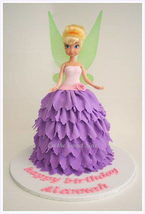 tinkerbell kuchen feen kuchen tinkerbell cake without dolly varden tin