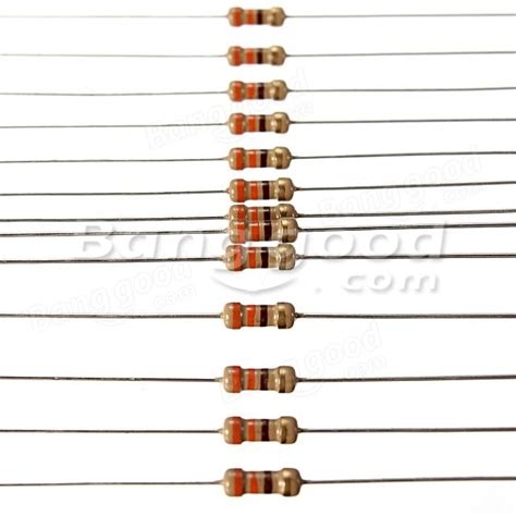 resistor color code 330 ohms 100 pc 330 ohm 1 4w 0 25w 5 resistencias de pel 237 cula de carb 243 n venta banggood sold out