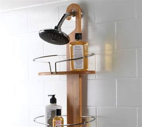 shower curtain caddy umbra bamboo shower caddy my home items pinterest
