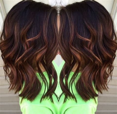 fall highlights for brown hair best 25 fall hair color for brunettes ideas on pinterest