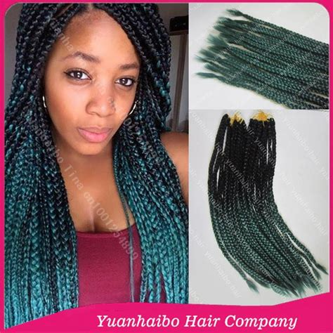 box braids with 2 packs of hair 2016 new fashion 22 quot colored two tone synthetic crochet